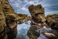 Rocks (Richard_Turnbull) Tags: newbiggin rocks sea coast northeast northumberland gulley gully rockpool pool nikon d600 spital carrs northumbria seaweed