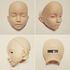 Narin 401 (bimong11) Tags: narin n401 faceplate 65inch head faceup art bimong doll bjd renewal rerelease normal skin