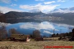 Innvikfjorden - Blaksaeter (soyouz) Tags: blakster blakset geo:lat=6185963560 geo:lon=652685720 geotagged nor norvge sognogfjordane fjord montagne neige innvikfjorden norvegela