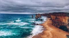 That Time (FlavioSarescia) Tags: greatoceanroad australia australien summer sea sky clouds rocks hill travel downunder sun