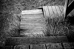 Step Up (savillent) Tags: black white mono old ghost machine dark nikon d800 24 70mm photography arctic commercial tuktoyaktuk saville northwest territories canada september 2016
