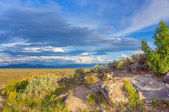 high desert plateau (Keegan - aka Boobie40) Tags: newmexico taos highdesert desert d810 nikon cloudporn clouds scenic landscape roadtrip