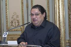 Juan Carlos Chirinos, escritor (Casa de Amrica) Tags: poesia guaraguao revista cultura mariocampaa antoniogamoneda madrid espaa latinoamerica iberoamerica americalatina casaamerica casamerica casadeamerica poetas escritores