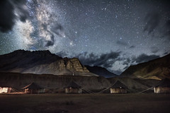 Hidden World (Sourabh Gandhi) Tags: spiti kaza hidden world india intriguing moment sabbyy sg sourabh gandhi getty stock images image famous photographer middle night milky way galaxy stars long exposure mountains mountain light home stay hotel indian nowhere beautiful