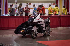 Batcycle 1966 (Greg Larro Photography) Tags: batman 1966 66 adam west burt ward dc comics batmobile batcycle batcopter robin