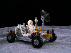 Lunar Roving Vehicle (Legohaulic) Tags: moon lego space rover nasa commission lunar