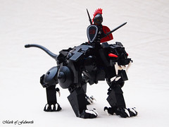 Fen Panther (Mark of Falworth) Tags: brick castle war lego beast creature panther built brickarms brickforge brickwarriors