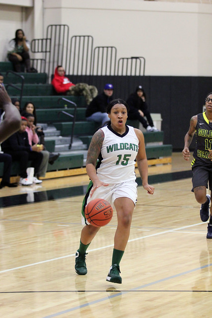 Danielle Thomas scored 18 points in only 16 minutes of action off the bench against Concordia. Copyright Wilmington University, 2012. All rights reserved.
