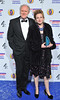 The British Comedy Awards 2012 held at the Fountain Studios - John Lithgow and guest
