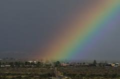 Rainbow Over Corona (cactusbillaz) Tags: rainbow rainbows santaritamt weatheraz rainbowaz santaritarainbow