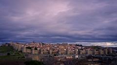 Muralla y ciudad de Ávila, España