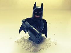 Batman with EMP gun (ACRKLego) Tags: lego batman bane catwoman thedarkknightrises tdkr acrklego chameleonfilter