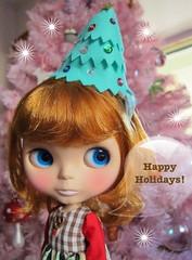 Bean says Happy Holidays ^_^