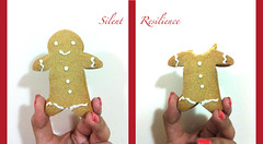 The Gingerbread Man. (Silent Resilience) Tags: santa christmas xmas man happy yummy head jesus gingerbread eaten merry farah silentresilience