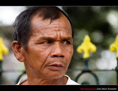 Concerned (jean-marc rosseels) Tags: portrait man color male guy colors canon indonesia java expression candid yogyakarta candidportrait canon7d jeanmarcrosseels