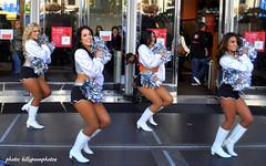 2012 Oakland Raiderettes Macy's Union Square San Francisco (billypoonphotos) Tags: sanfrancisco california news television sarah army oakland photo nicole rachel nikon cheerleaders calendar boots bell picture sanjose