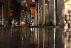 Milan - rainy evening (Luca Enrico Sironi) Tags: street milan night milano streetphotography notturno