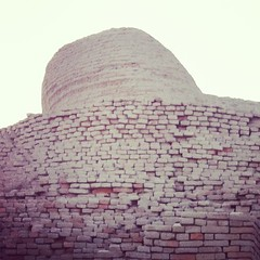 I visited Mohenjodaro Stupa... Also printed on the back of 10 Rs. Note Pak currency