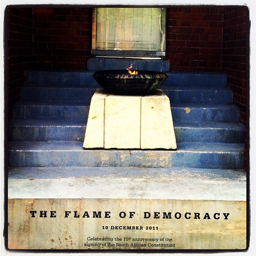 constitution ~ The Flame of Democracy...