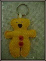 Chaveiro Urso (Manezinha Arteira) Tags: bear keychain urso chaveiro lembrancinha