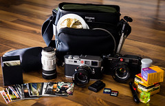 Whats in my bag (spallutography) Tags: camera leica classic 35mm bag for kodak tmax whats f14 release tripod battery cable m level 400 gb fujifilm 16 portra 800 ultra m6 nokton voigtlnder reflector 12inch sandisk manfrotto 8gb 1250 m9 billingham hotshoe elmarit leitz neoprene litedisc lenspen 12890 summicronm moobusinesscards sdcards spallutography mtt2p02