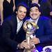Tommaso Bendoni and Diego Armando Maradona