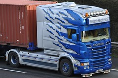 KER Transport Scania R580 'Longline' V  8 EXC (truck_photos) Tags: