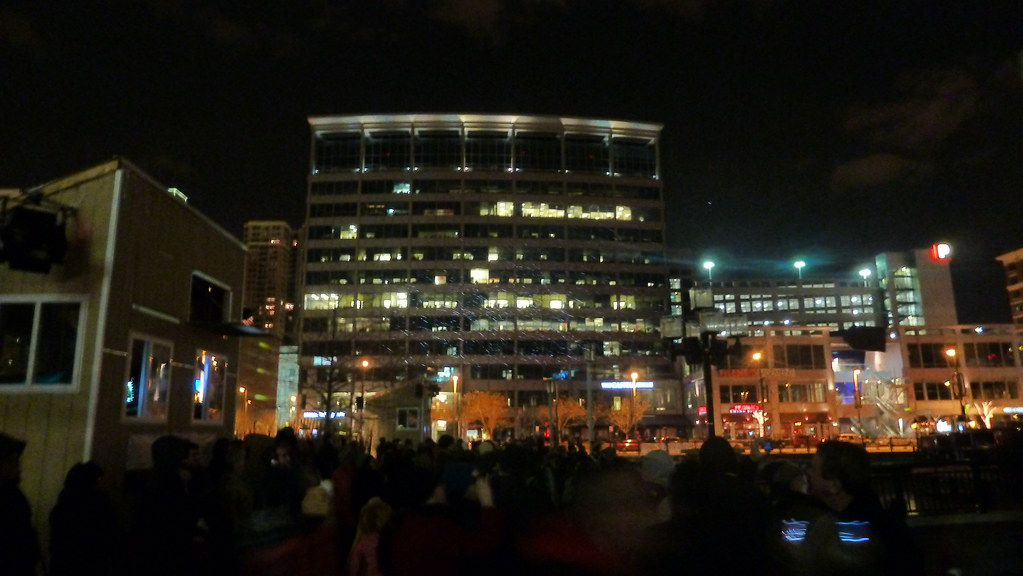 Power Plant Holiday Light Show Spectacular 2012 (A.Currell) Tags: Show Life