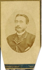 1882. Portrait of a man with whiskers and pince-nez (elinor04 thanks for 27,000,000+ views!) Tags: vienna wien old portrait man vintage studio found austria photo photographer antique victorian images whiskers collection photograph age oldphoto cdv oldphotograph past foundphoto gentleman stockmann foundphotograph antiquephotograph elegance foundphotos antiquephoto vintagephoto 1880s austriahungary 1882 foundphotographs bygone pincenez bygoneage nikolausstockmann stockmannknozer fritzknozer nikolausstockmannfritzknozer stockmannandknozer knozer elinorscollection hungariancollection elinorsvintagephotocollection