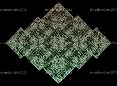 al-ikhlas 4 (REKA KUFI) Tags: art arabic calligraphy tessellation malay islamic jawi surah khat kufic alquran kufi kaligrafi alikhlas