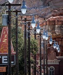 "Cars Land Main Street • <a style=""font-size:0.8em;"" href=""http://www.flickr.com/photos/85864407@N08/8346868195/"" target=""_blank"">View on Flickr</a>"