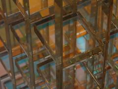 The Beauty of the Victoria and Albert Museum (Karva Javi) Tags: uk london glass museum reflections design geometry patterns va victoriaandalbert