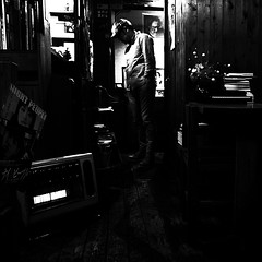 Night People (jammin' one) Tags: blackandwhite bw monochrome japan movie mono tokyo blackwhite cafe bn   japo japon giappone jepang japn      nightpeople japonia japonya jepun japn japonsko  japonija japna   appun   snmainht