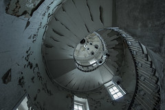 Spiralling decay (Explore) (sj9966) Tags: england urban abandoned canon dead eos decay empty exploring forgotten derelict decayed decaying 1022 urbex sj9966
