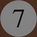Wedding Table Number 7