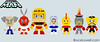 """LEGO Mega Man Dr. Wily and Robot Master Figures • <a style=""""font-size:0.8em;"""" href=""""http://www.flickr.com/photos/44124306864@N01/8418649266/"""" target=""""_blank"""">View on Flickr</a>"""