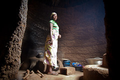 Tammari woman in the kitchen of her Tata Somba. Koussokoingou, Benin (NeSlaB .) Tags: poverty africa travel woman house west building kitchen architecture canon photo women village mud traditional tata country culture photojournalism tribal benin tradition tribe ethnic developingcountries reportage nationalgeographic afrique ethnography ethnology somba ethnies tamberma taberma tammari batammariba neslab ottamari