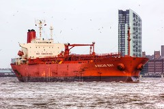 Maracas Bay (Andy Tee) Tags: liverpool river bay ship vessel maritime oil maracas mersey tanker chemical eastham