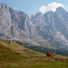 "<b>Lecture in the Dolomites</b><br/> Earth and the Environment in Italy, Fall 2012, photo by Hannah Fisher<a href=""http://farm9.static.flickr.com/8502/8435295233_723e4ffe25_o.jpg"" title=""High res"">∝</a>"