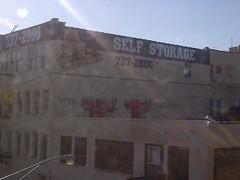 My Blackberry camera is smackin! (yungweaves) Tags: chicago graffiti xtc kel brownline j4f