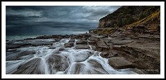 Cascades at Seacliff (Jasonpang88) Tags: bridge seascape storm waves coalcliff lee09gnd rockshelf nikond800 jasonpang seascliff nikon1635mm jasonpangphotography