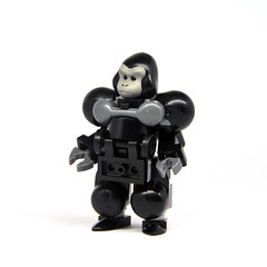 Monkey Suit (Mecharonn) Tags: monkey lego gorilla hard suit mech hardsuit