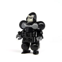 Monkey Suit (Mecharonn) Tags: monkey lego gorilla hard suit mech hardsuit