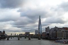 A postcard from London (l o r e n a) Tags: london shard londra