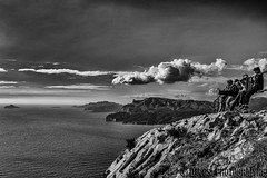 Route des crtes (davcsl) Tags: blackwhite bw biancoenero blackdiamond davcsl europe people france monochrome noiretblancblackwhite monotones paca water routedescretes cassis laciotat frontdemer bouchesdurhone provence landscape clouds nuage