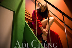 Adi_0042 (Adi Chng) Tags: adichng girl      redgreen