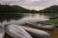 800_7783 Ferndale (snolic...linda) Tags: arkansas 501 littlerock ferndale night reflections lake canoes