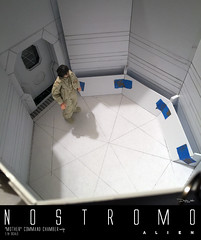 NOSTROMO-MOTHER-CHAMBER-6 (sith_fire30) Tags: alien nostromo mother muthur6000 sulaco prometheus covenant dallas ash ripley chamber corridor bridge weyland yutani scratch building model making custom action figures toys diorama art sithfire30 dayton allen