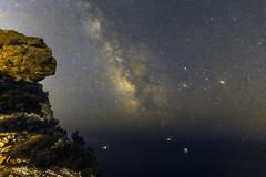 ROUTE DES CRETES NUIT-21_resize (marcdelfr) Tags: routedescrtes cassis laciotat provence tourism calanques tourisme toiles voielacte nuit night nightphotography milkyway landscape scenics moon astronomy mediterrane mediterraneansea paysages stars etoiles