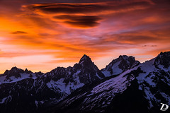 Blazing Sky DeschampsDamien (Damien DESCHAMPS) Tags: sun sunrise clouds light blazing mountains high alps chamonix chamonixmontblanc photography photo photooftheday photographer colors nikon nikond800 nikonfr landscape france morning early respectmothernature earth magicearth dreams freedom adventure explore